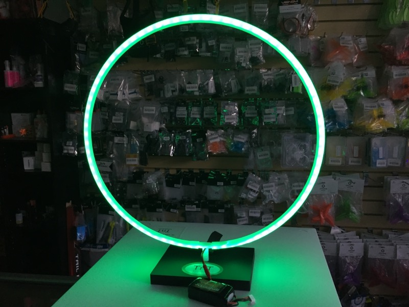 "TNTC 16"" LED MICRO RACING GATE(1) - <font color=""green""><b>Green</b></font>"