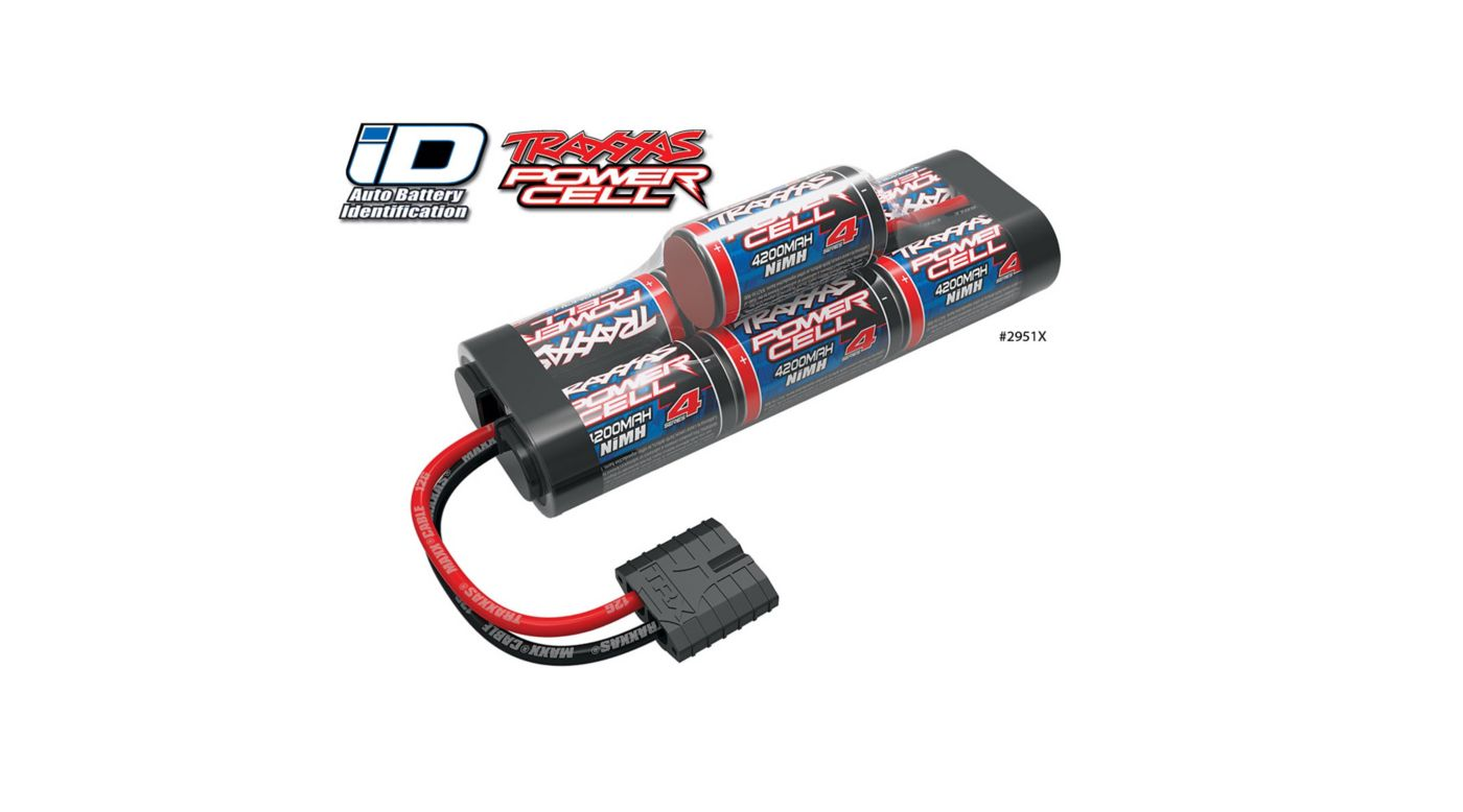 Traxxas 8.4V 4200mAh 7-Cell Hump NiMH Battery with TRA ID - SNHE