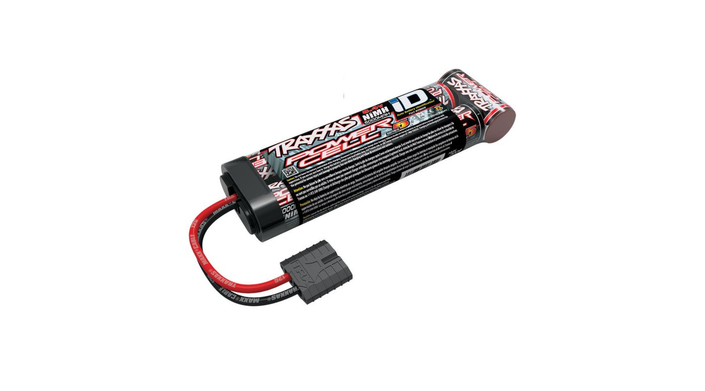 Traxxas 8.4V 5000mAh 7-Cell Flat NiMH Battery with TRA ID - SNHE