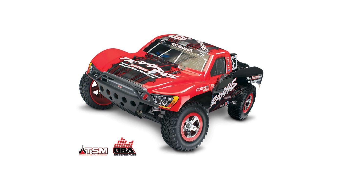 1/10 Slash 2WD SCT Brushless RTR with TSM and OBA, Mark Jenkins #25 Edition - SNHE