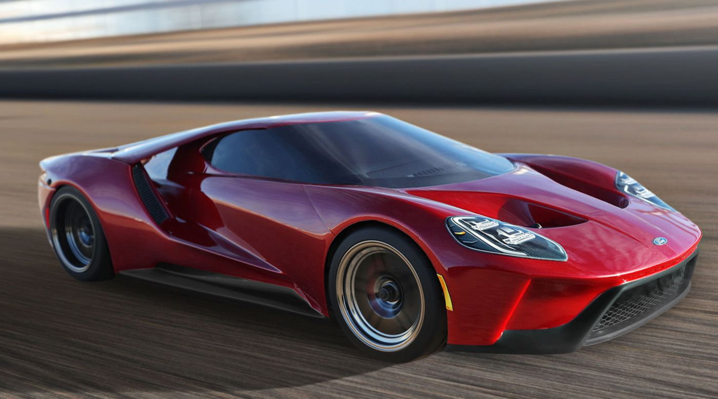 Traxxas 1/10 Scale Ford GT AWD Supercar RTR with XL-5 and TSM, Liquid Red