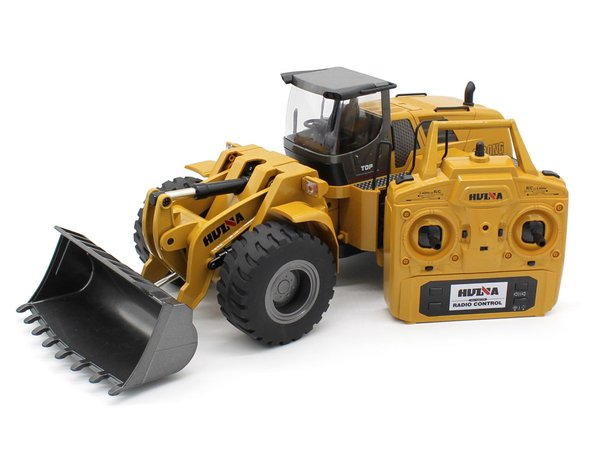 HUINA TOYS 1583 R/C 1/14 ALLOY 10CH 2.4GHZ RTR WHEELED LOADER