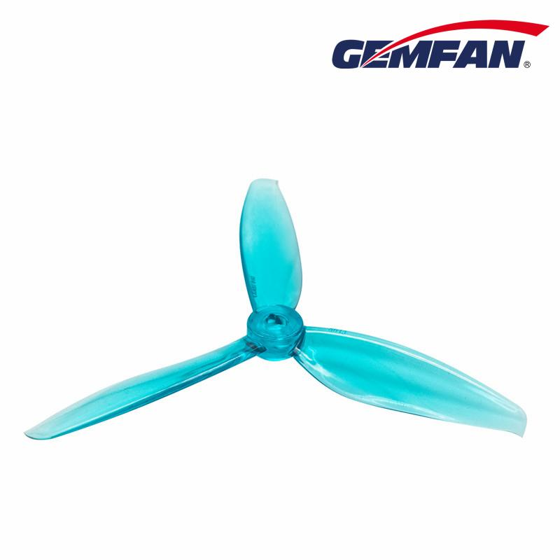"Gemfan <b>Windancer 5043</b> Durable 3 Blade Propeller - <font color=""sky blue""><b>Clear Blue</b></font>"
