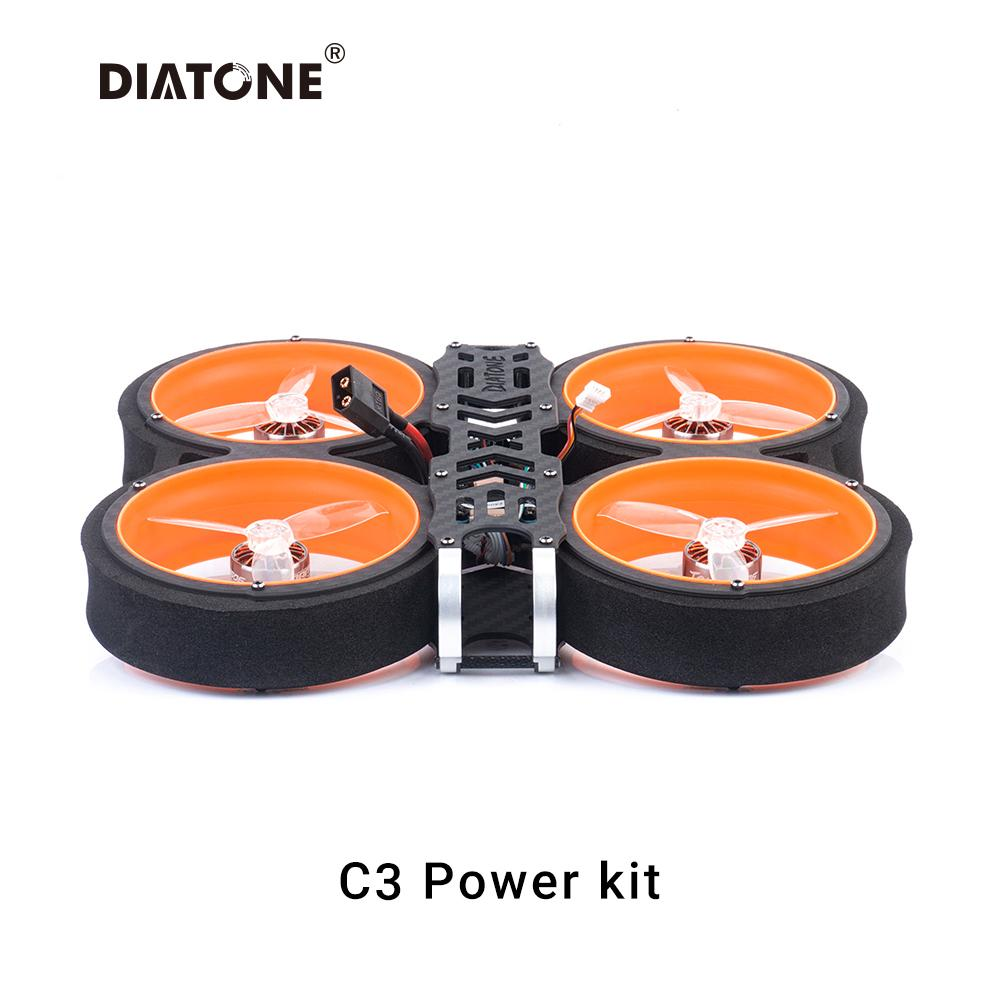 DIATONE MXC <b>TAYCAN 6S</b> 3INCH FREESTYLE FPV DRONE POWER KIT FOR-DJI AIR UNIT
