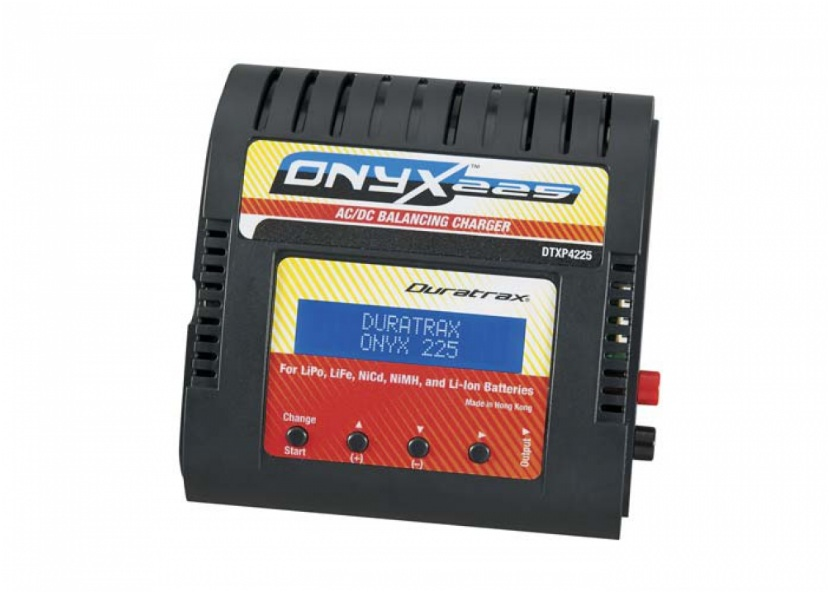 Duratrax Onyx 225 AC/DC Advanced Charger w/LCD - SNHE