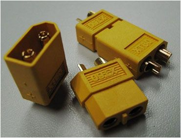 B-017 XT60 Plug Male/Female Connectors (1 pair)