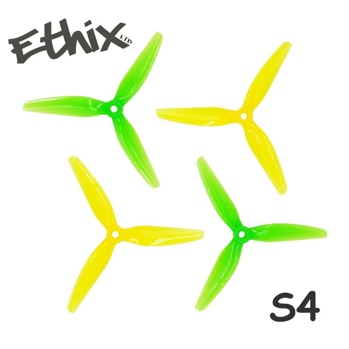 HQ <b>Ethix S4 Lemon</b> Propellers (2CW+2CCW)