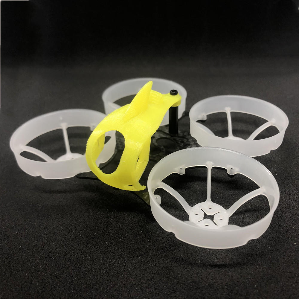 FullSpeed TinyLeader Standard Version Brushless Whoop Frame KIT <b>(Yellow Canopy)</b>