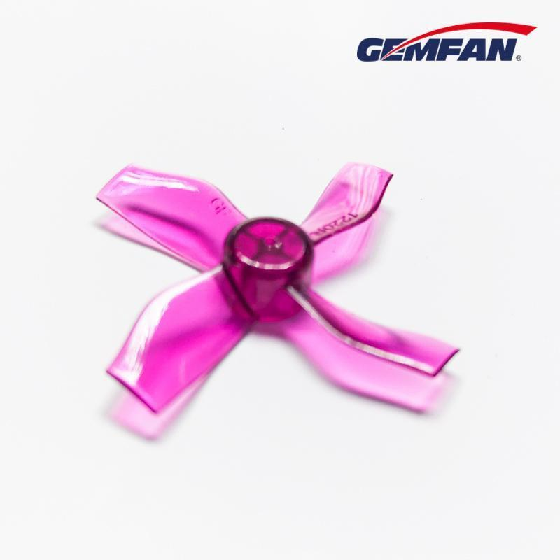 Gemfan <b>1220-4 Purple</b> 31mm Whoop Props (0.8mm Hub)