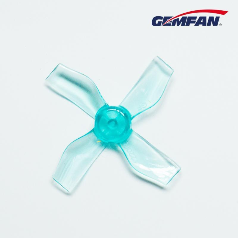 Gemfan <b>1220-4 Blue</b> 31mm Whoop Props (0.8mm Hub)