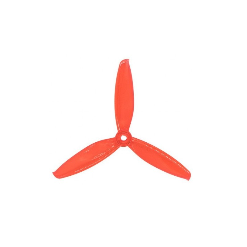 "Gemfan <b>Windancer 5043</b> Durable 3 Blade Propeller - <font color=""red""><b>Clear Red</b></font>"