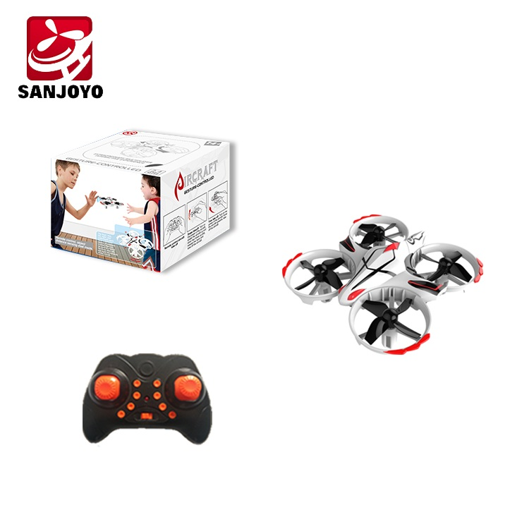 Mini 2.4G Drone with interactive Hand Sensing Gesture Control - <b>WHITE</b>