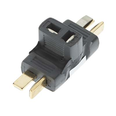 Great Planes Parallel Deans U 2 to 1 Adapter - SNHE