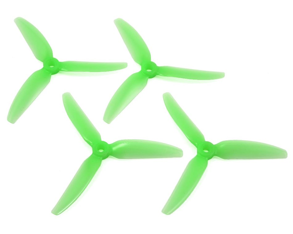 "HQ Durable PC Prop <b>5X4X3V1S:</b> <font color=""green""><b>Light Green</b></font> (2CW+2CCW)"