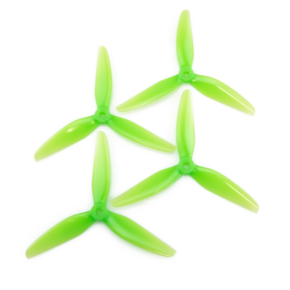HQ Durable PC Prop <b>5.5X3.5X3V1S:</b> <font color=&quot;Green&quot;><b>Light Green</b></font> (2CW+2CCW) - SNHE