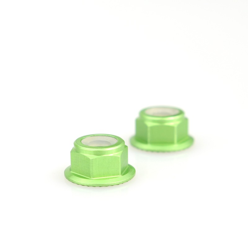 Emax Brushless Motor Aluminum Screws Nut For RS2205 RS2205S RS2306 - <b>(2 Pcs)</b> <font color=&quot;green&quot;><b>Green</b></font> - SNHE