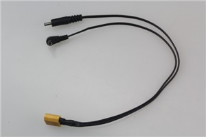 XT60 to 3.5&5.5mm DC cable