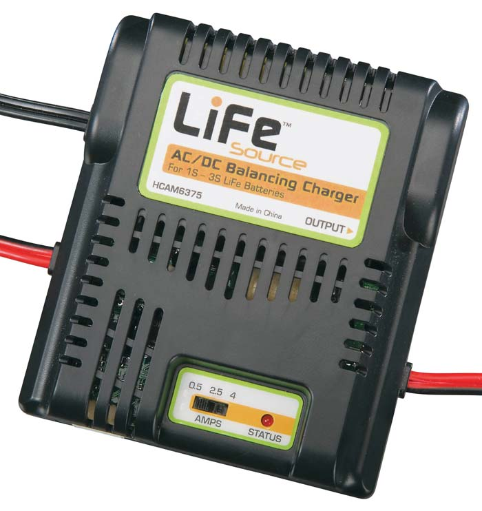 Hobbico LiFeSource AC/DC Balancing Charger 1S-3S
