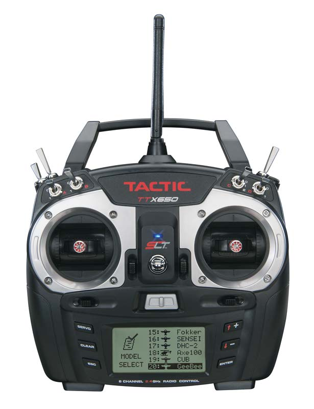 Tactic TTX650 6-Channel 2.4GHz SLT Computer Transmitter - SNHE