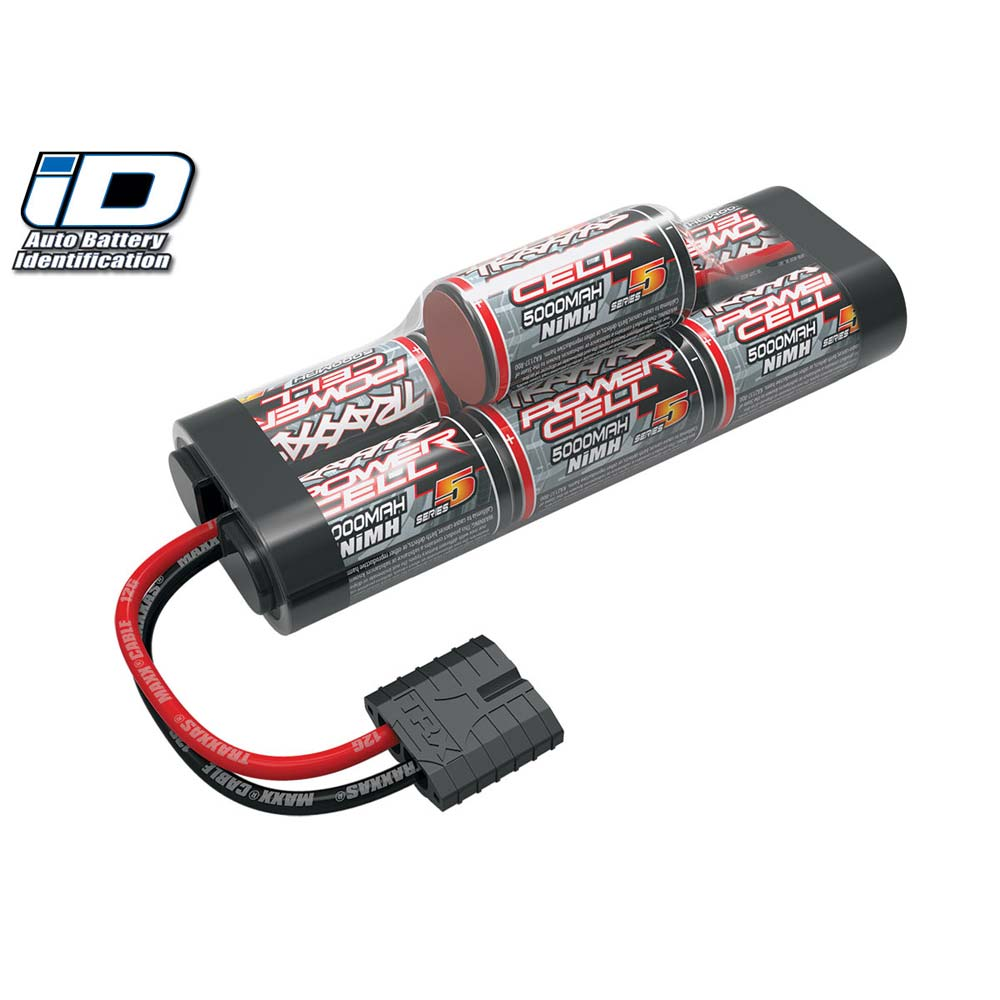 Traxxas 8.4V 5000mAh 7-Cell Hump NiMH Battery with TRA ID