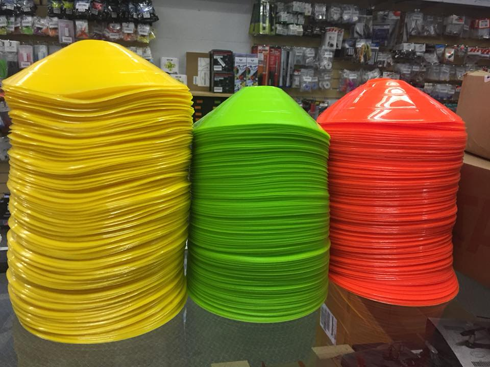 SNT Race Cones for Practice 10pcs - <font color=&quot;yellow&quot;><b>Yellow</b></font> - SNHE
