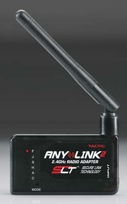 Tactic AnyLink2 2.4GHz Universal Radio Adapter