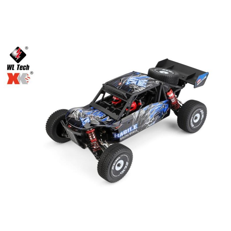 WLTOYS 124018 1/12 2.4G 4WD HIGH SPEED OFF-ROAD RC BUGGY
