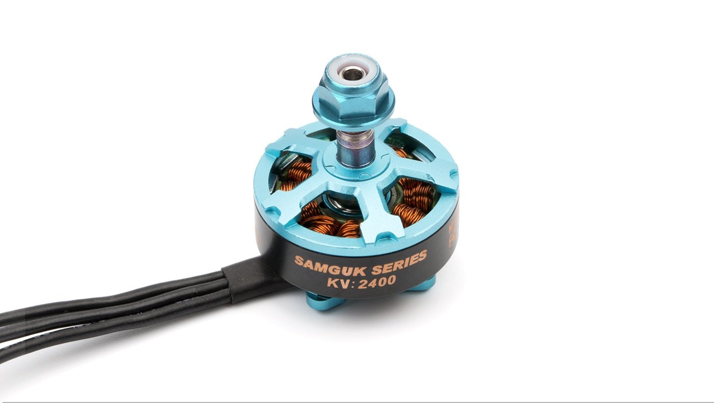 DYS Samguk Series <b>WU 2206-2400kv</b> Brushless Motor - <font color=&quot;red&quot;><b>Team SN Edition</b></font> - SNHE